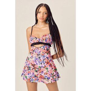 NWT Bouquet Cami Dress by For Love & Lemons